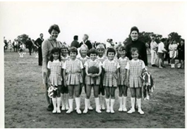 WRR Netball early years